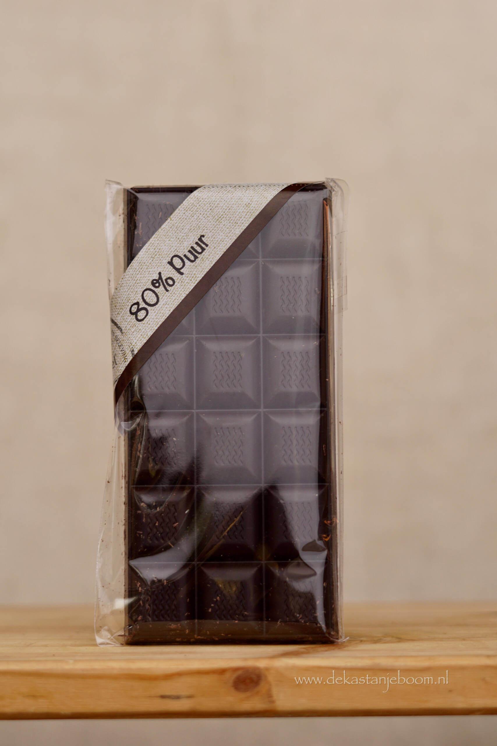 80% puur chocolade