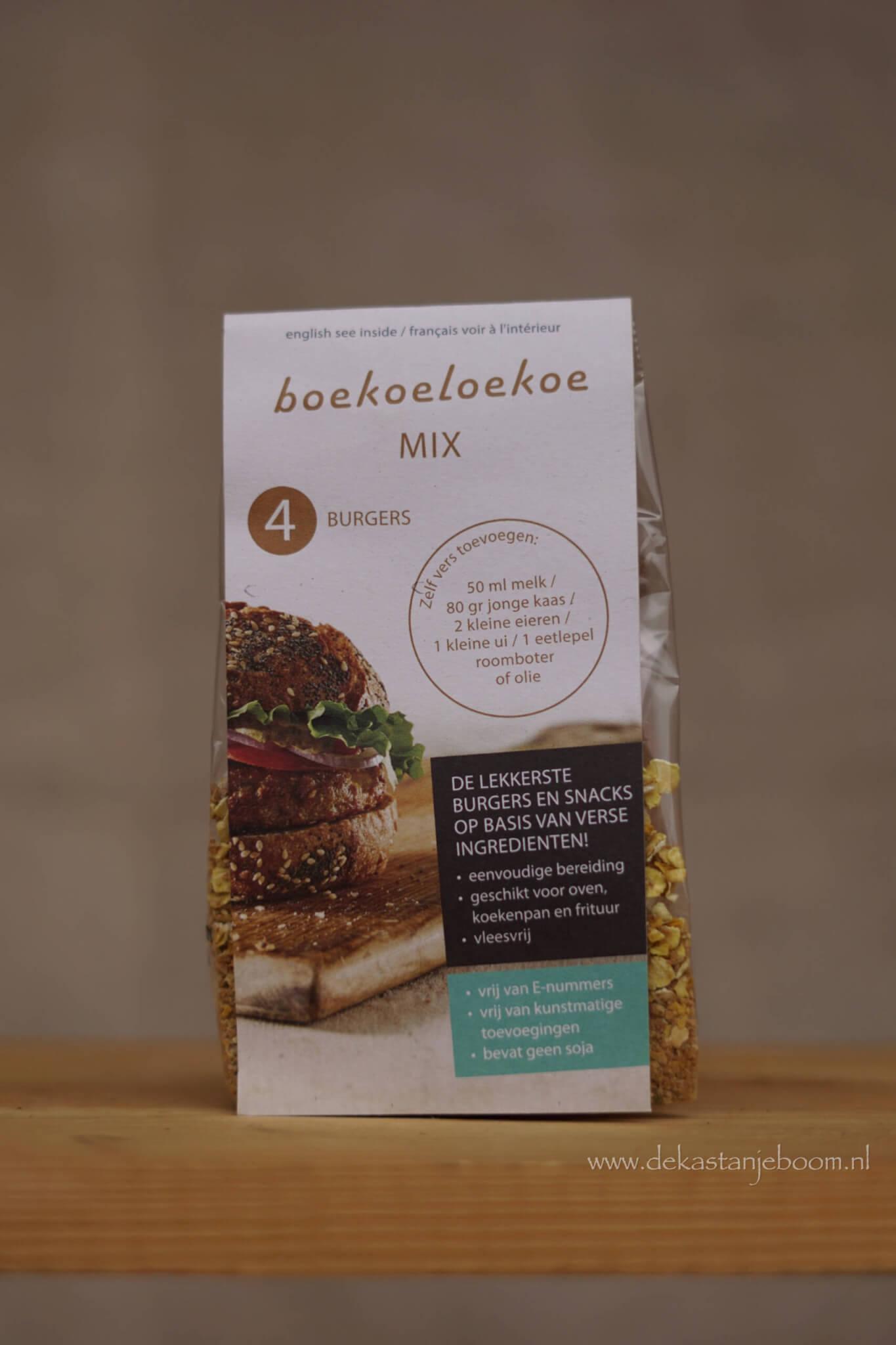 Burger mix - Boekoeloekoe