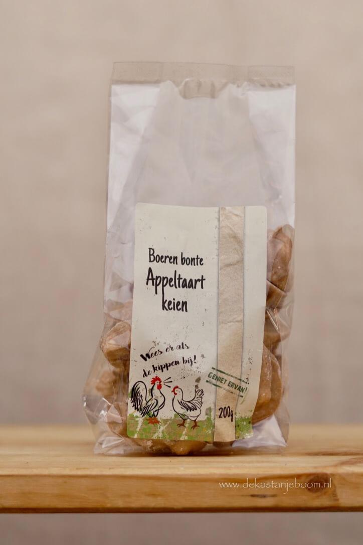 Boeren bonte appeltaart keien