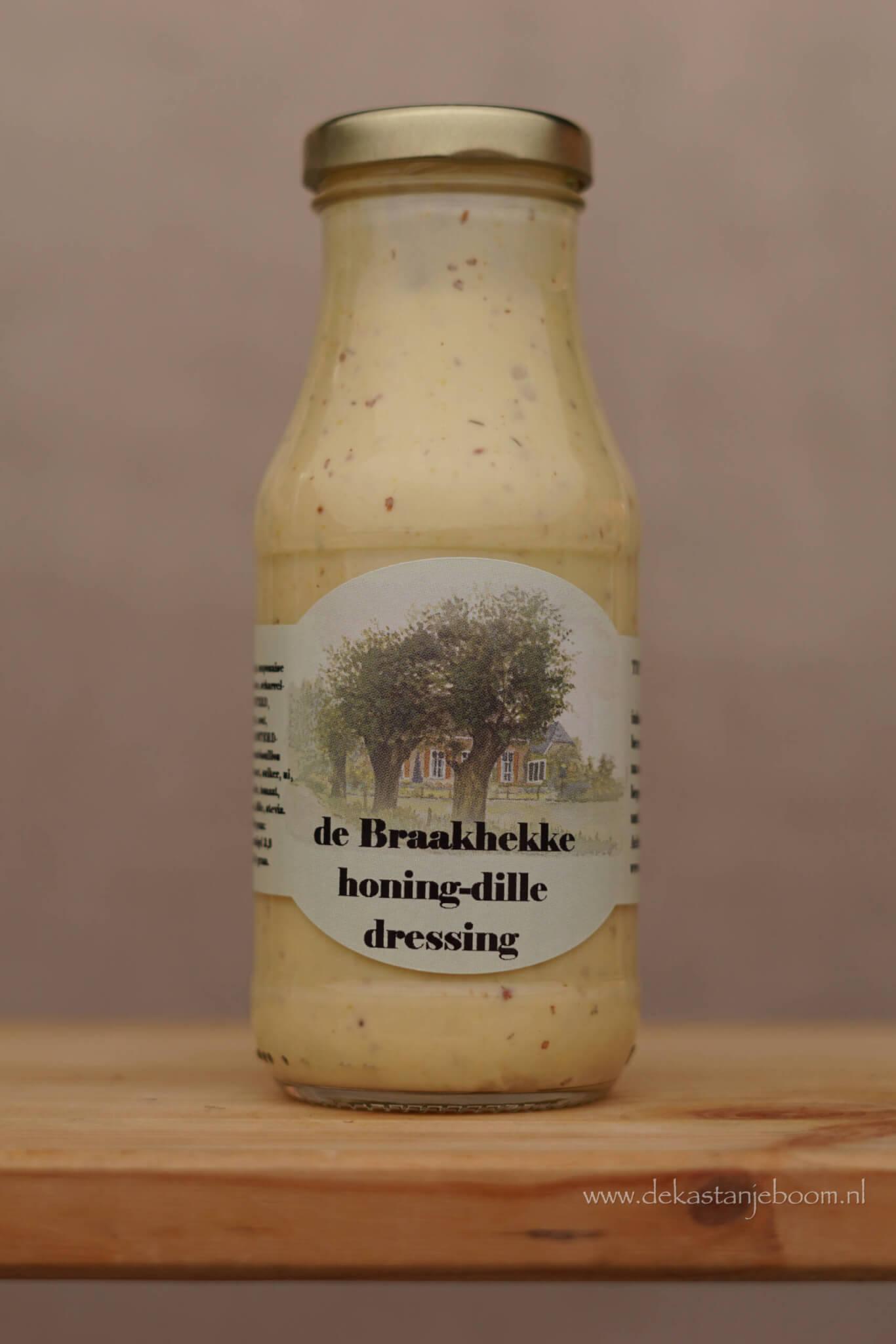 Braakhekke honing-dille dressing