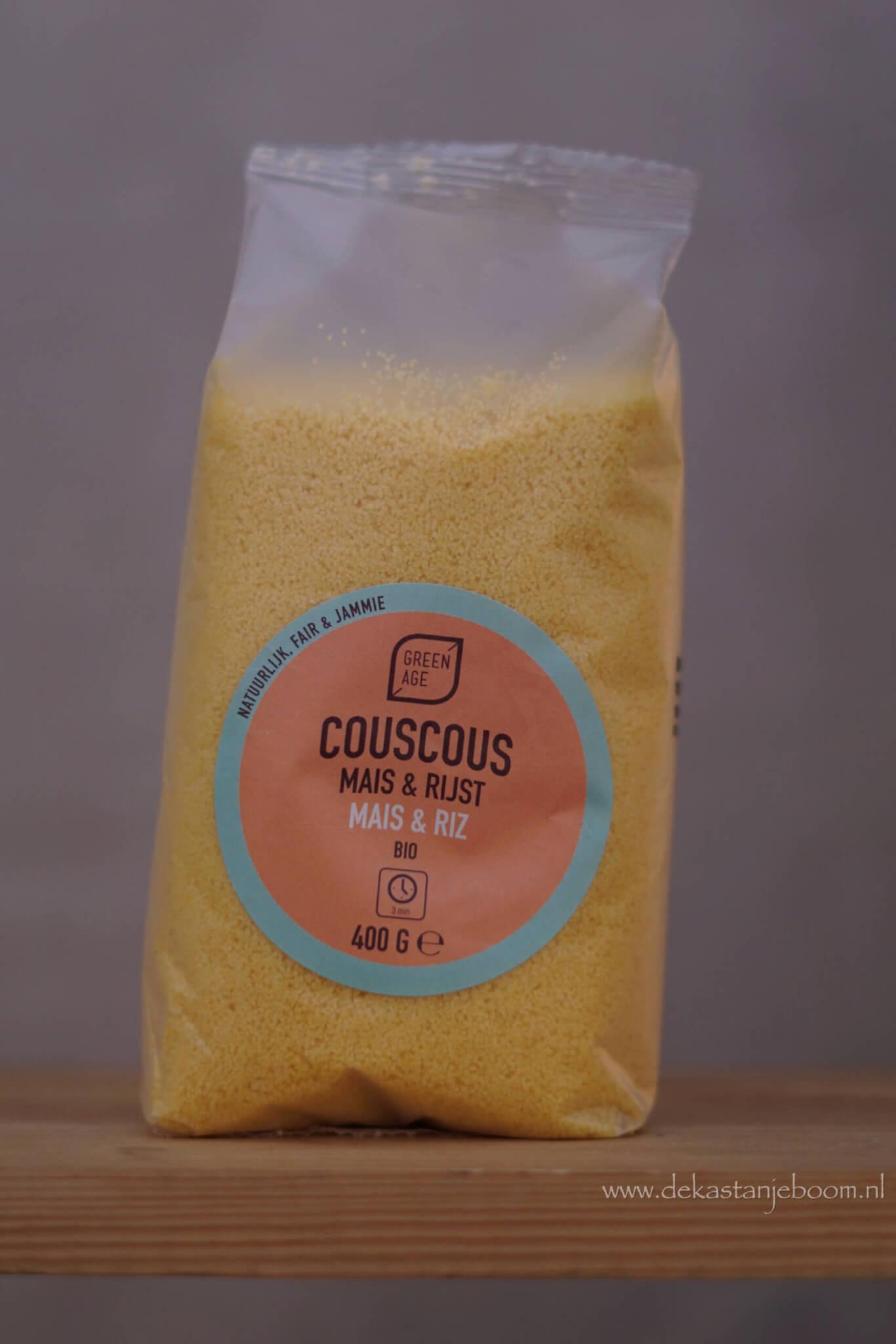Couscous mais & rijst