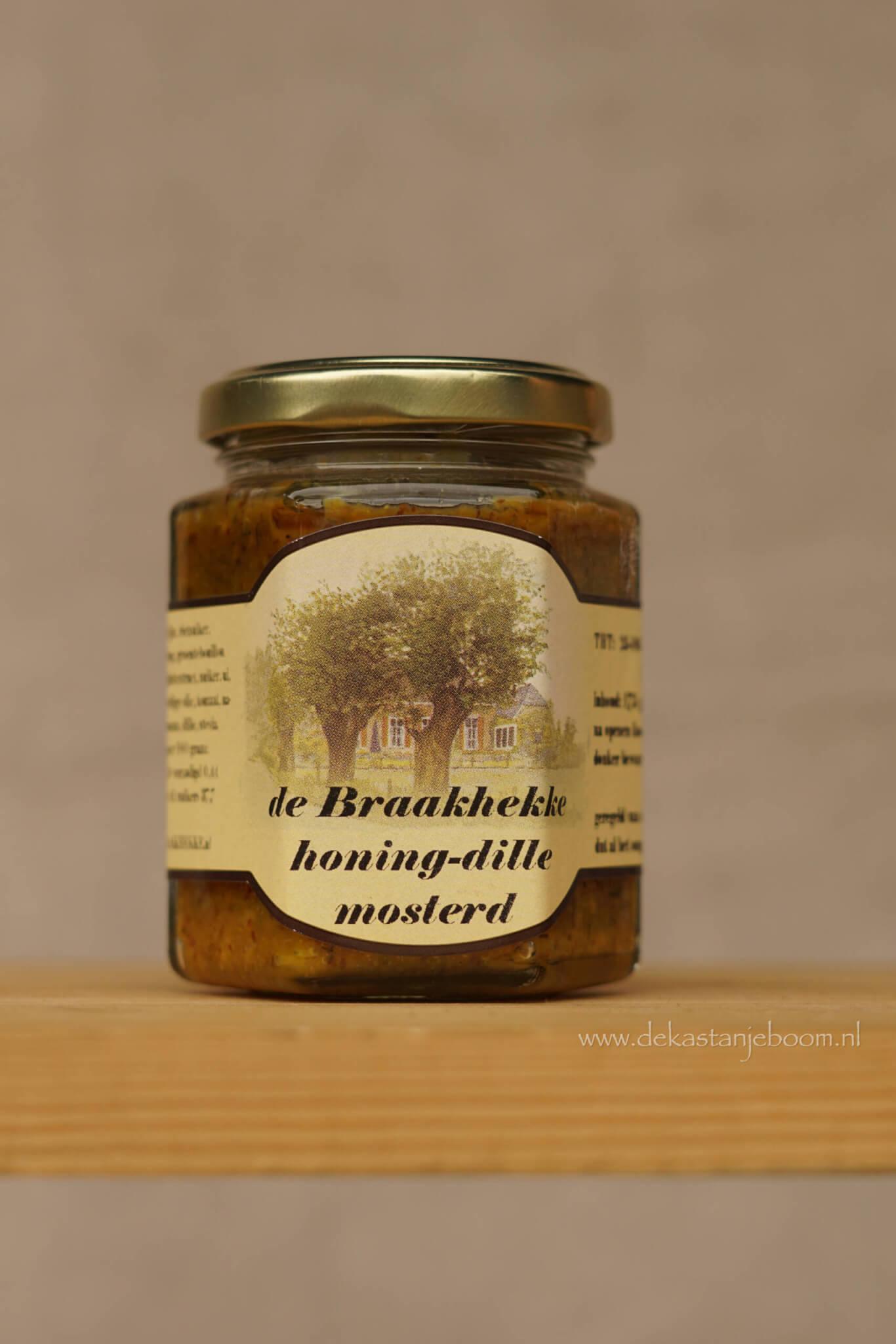 De Braakhekke honing-dille mosterd