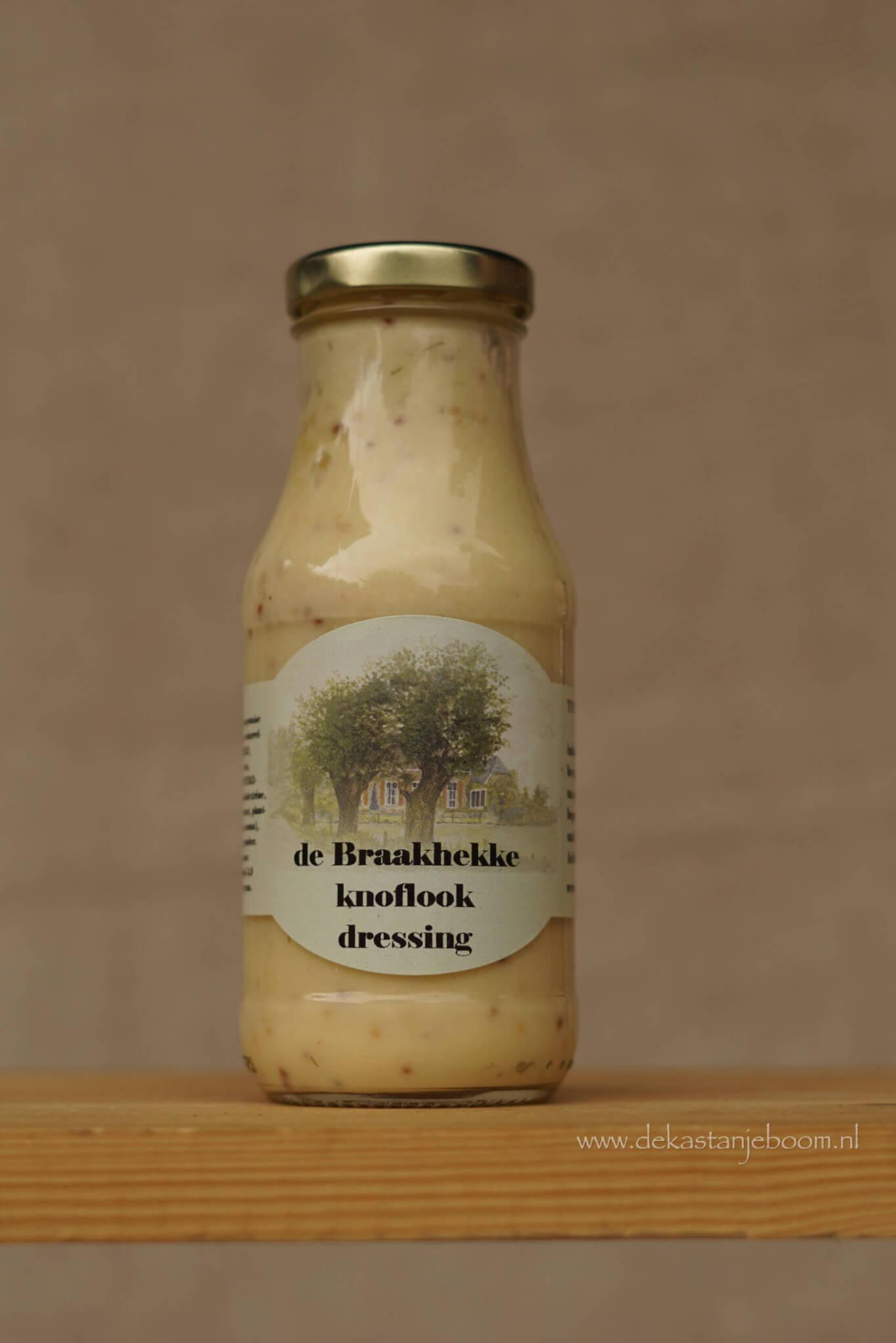 De Braakhekke knoflook dressing