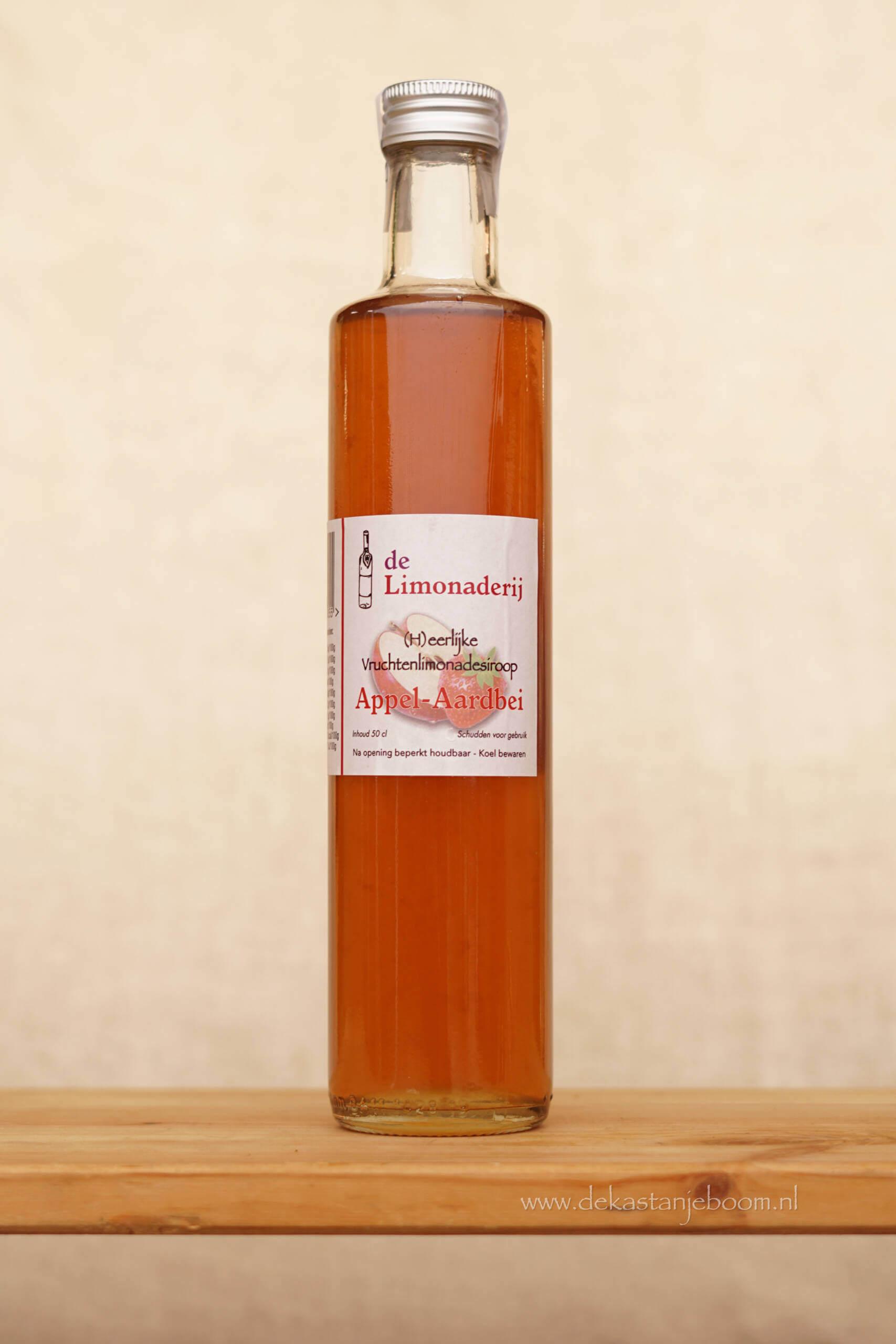 De limonaderij Appel- aardbei