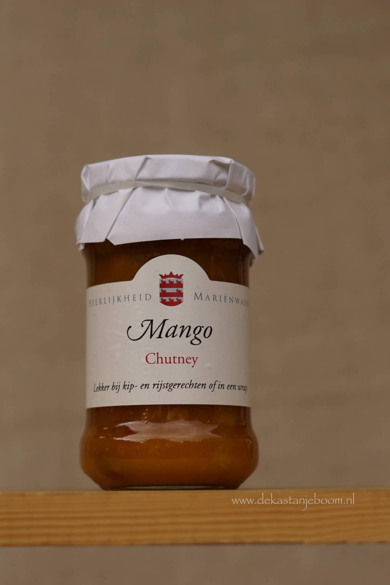 Mango chutney Heerlijkheid Mariënnwaard