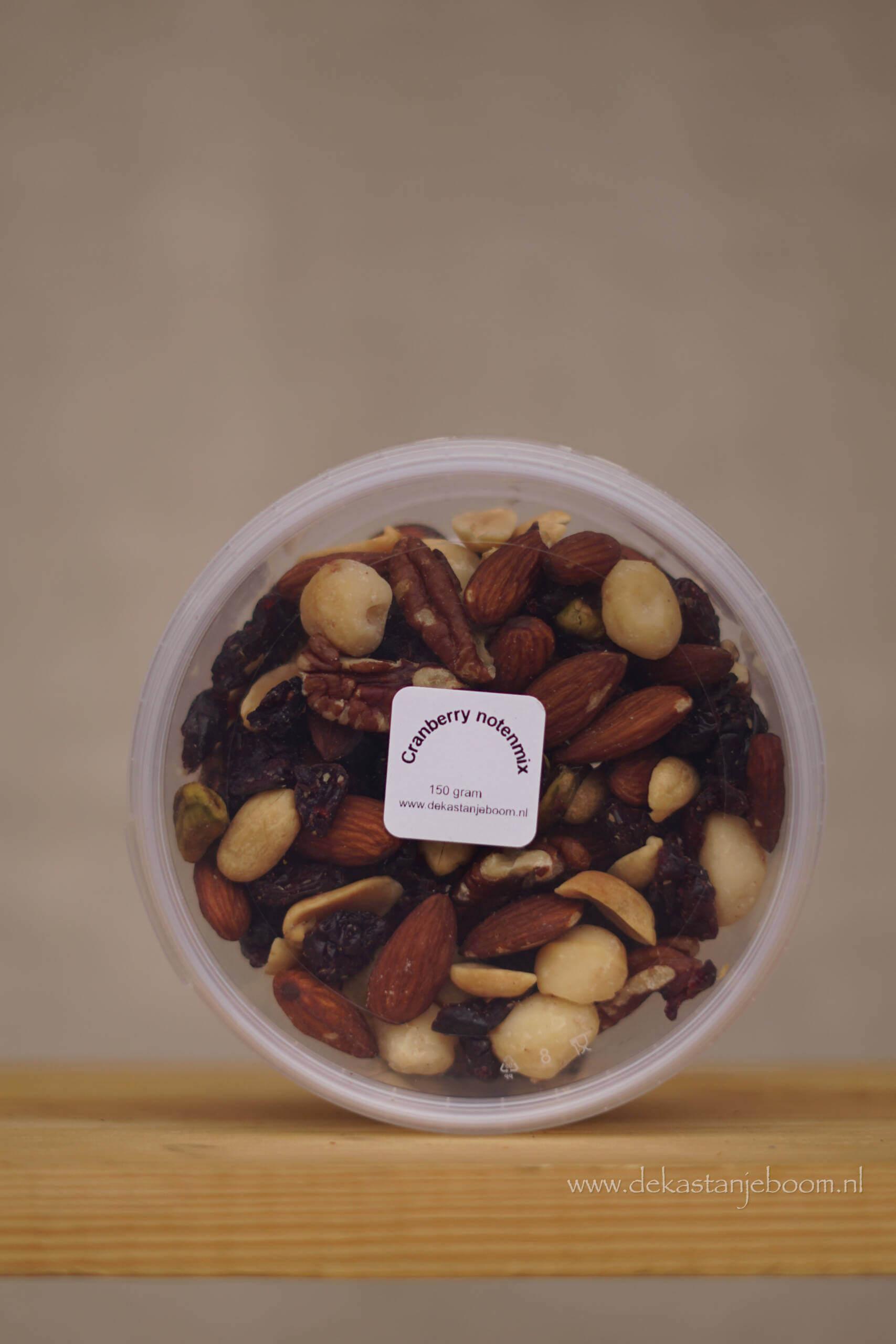 Noten Cranberry notenmix