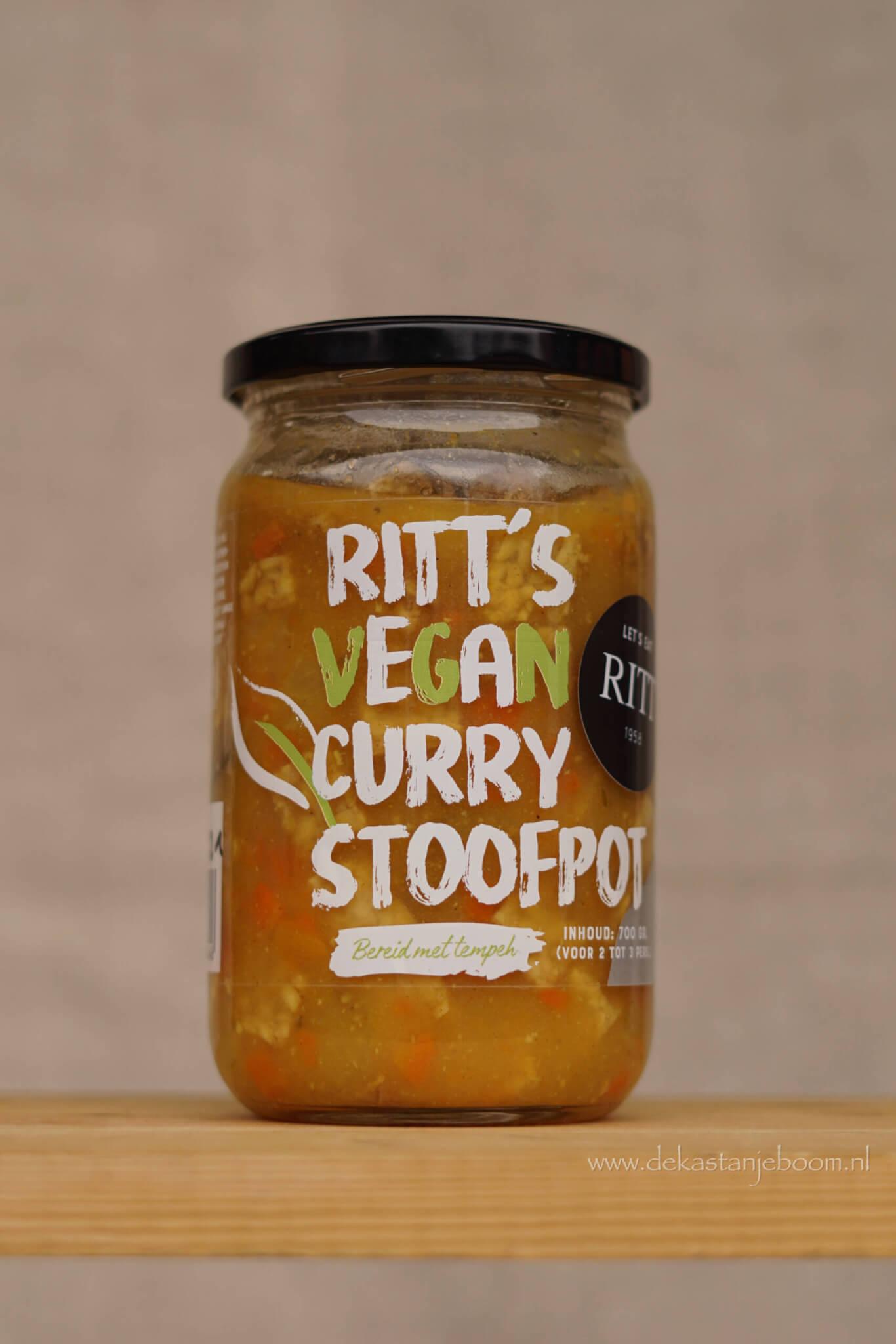 Ritt's vegan curry stoofpot