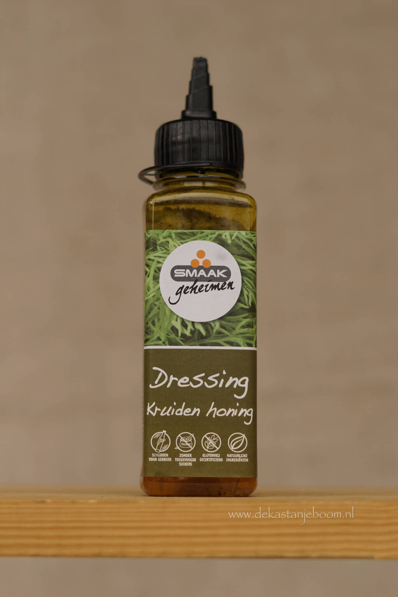 Smaakgeheimen dressing kruiden honing