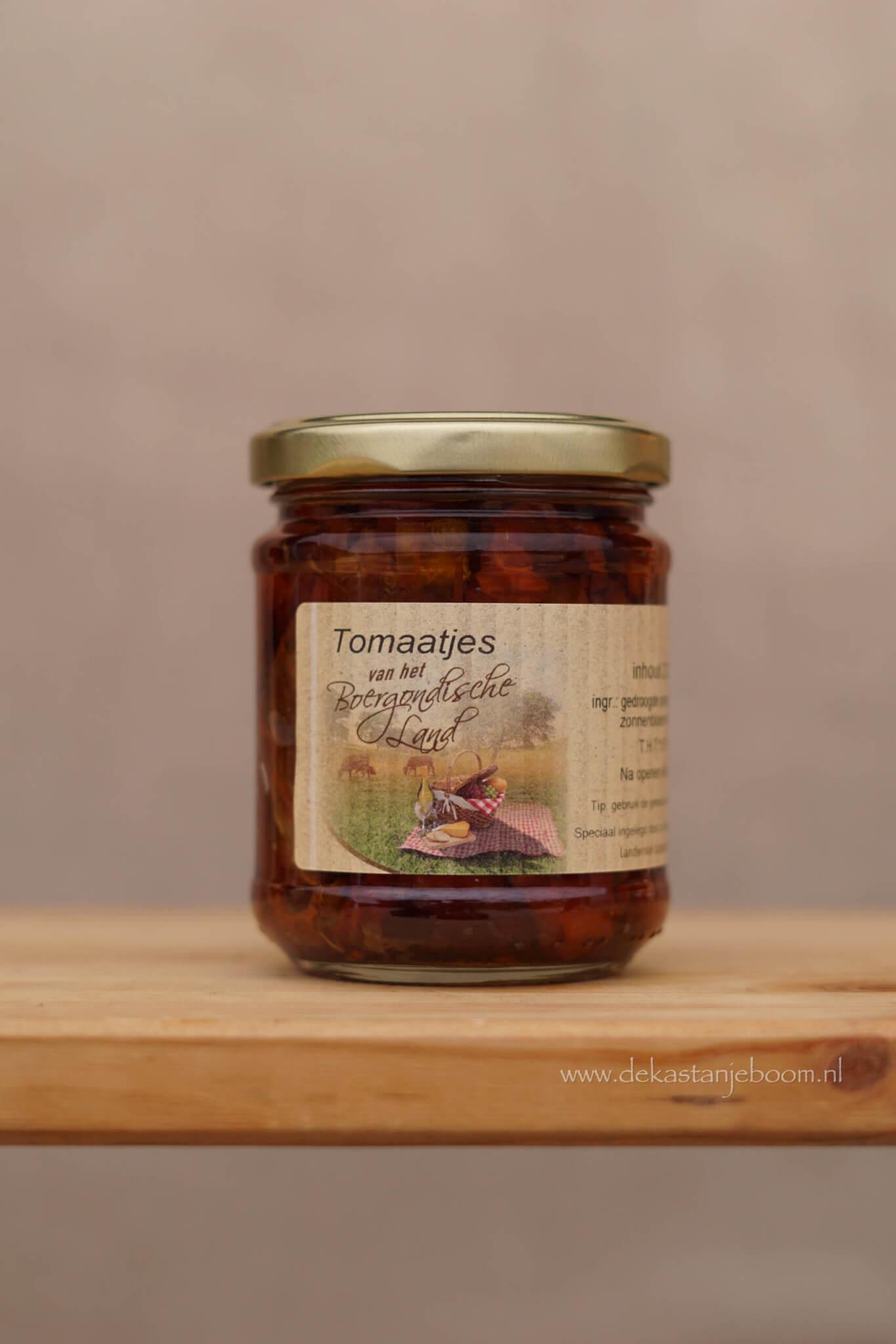 Tomaatjes van het bourgondische land