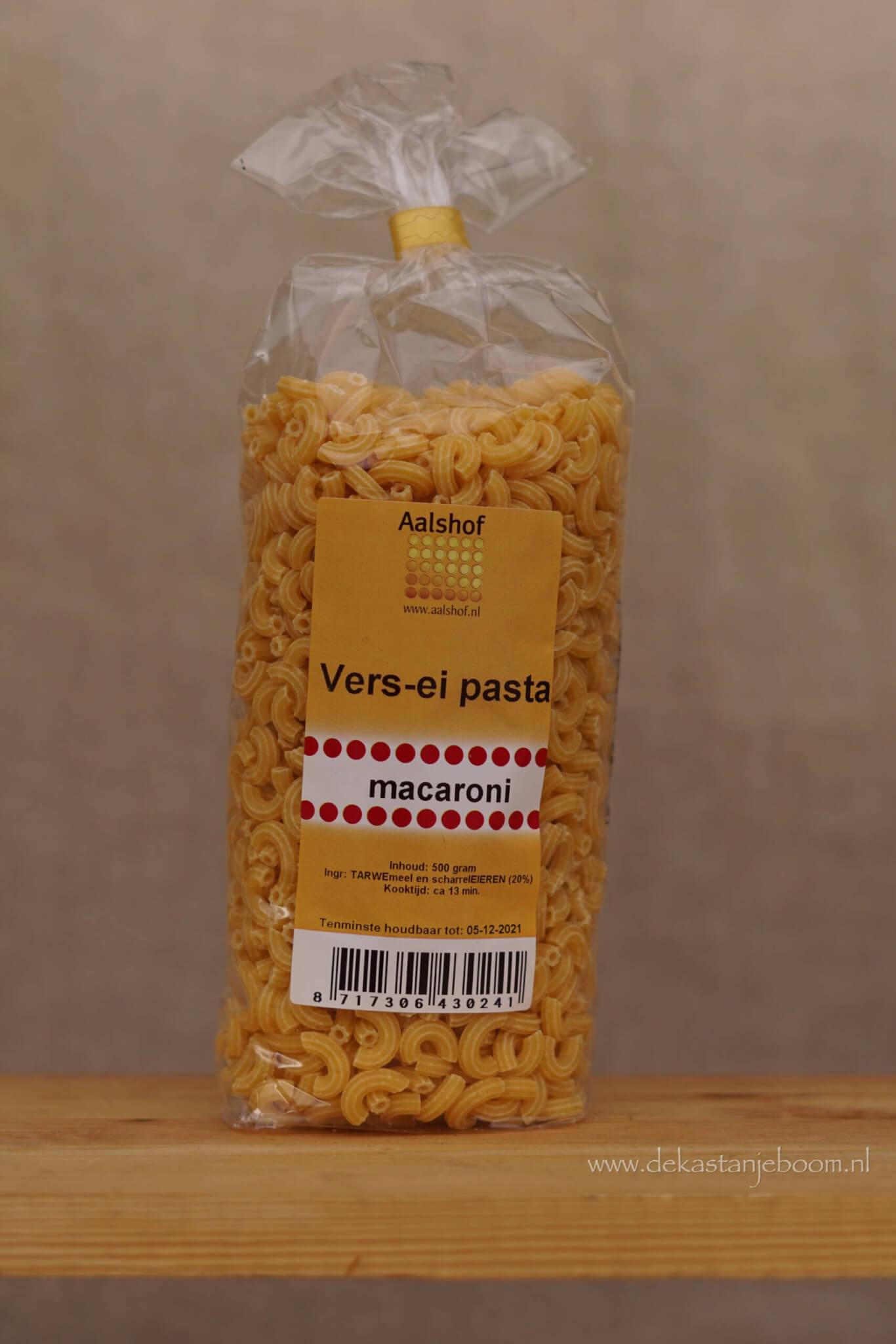 Vers ei pasta macaroni