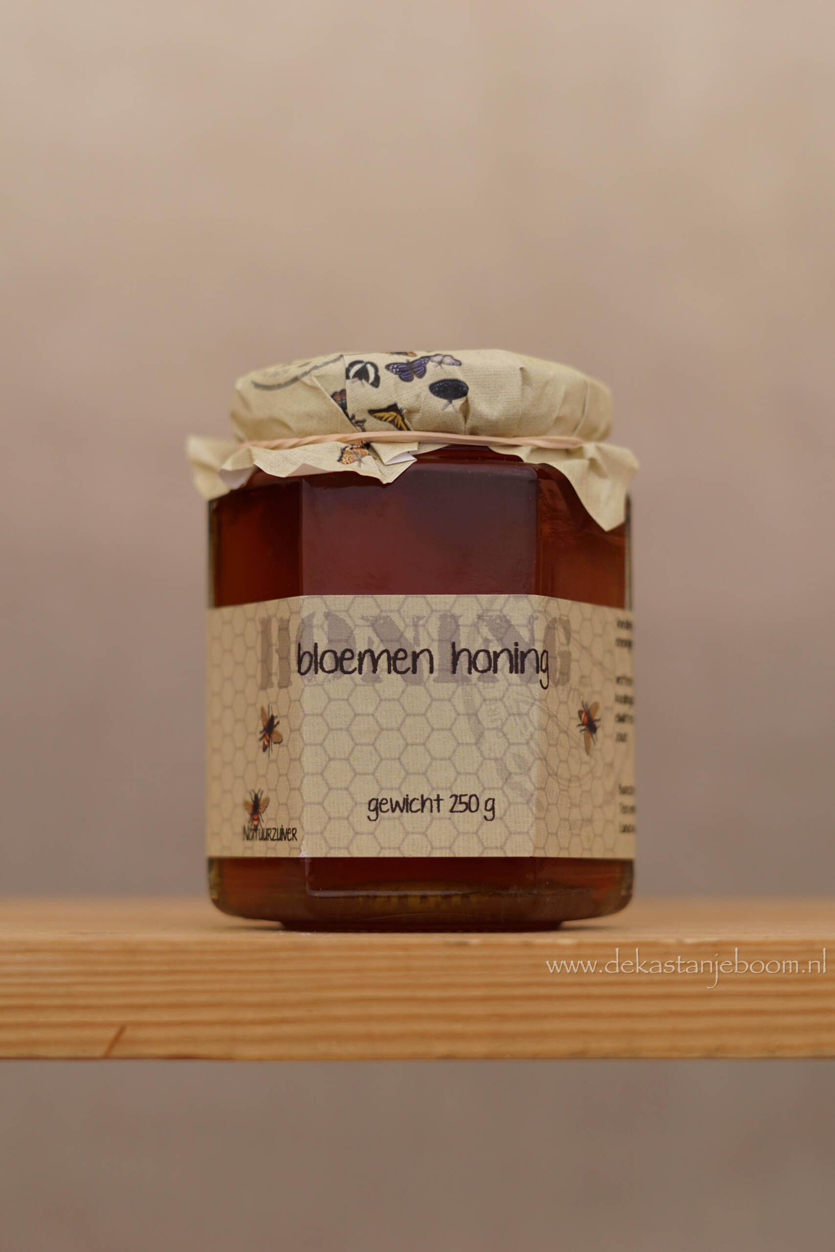 bloemen honing 250 gr
