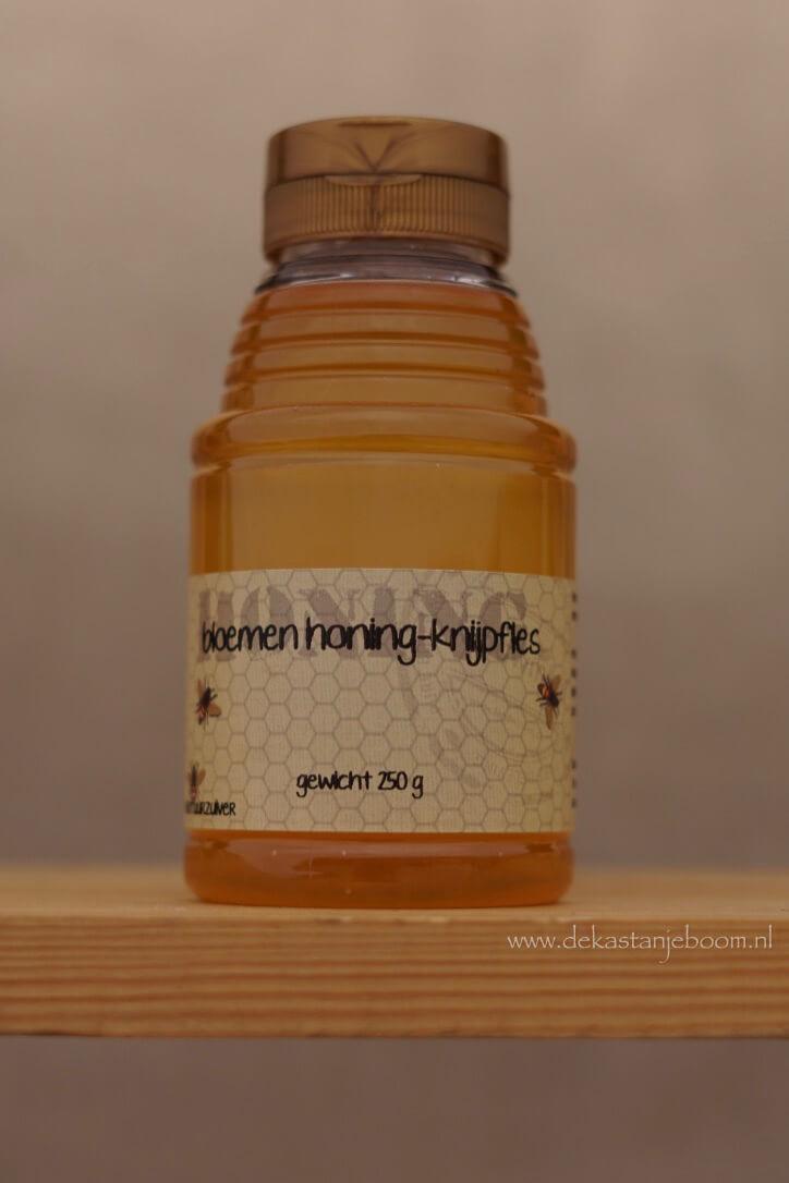 bloemen honing knijpfles 250 gr