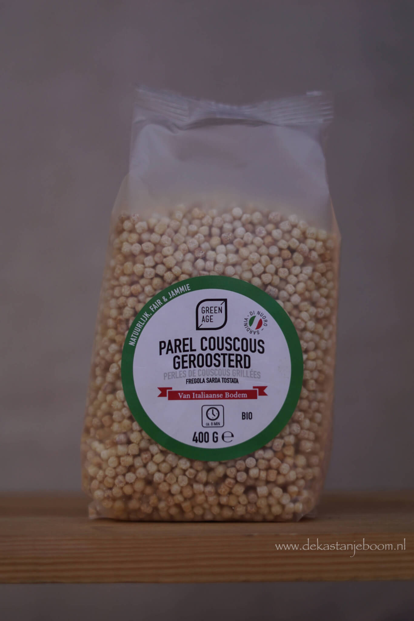 Parel couscous geroosterd
