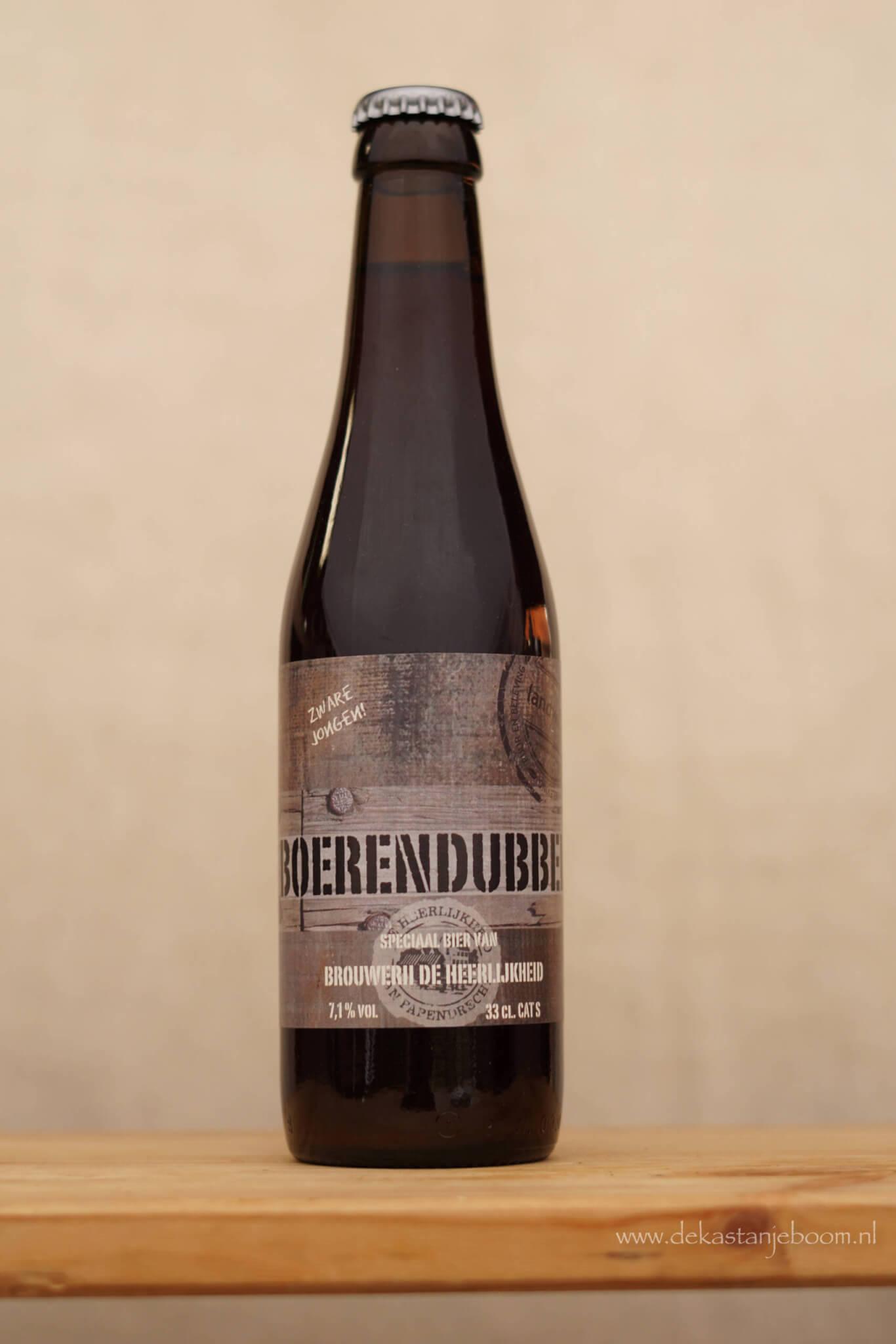 Boerendubbel bier