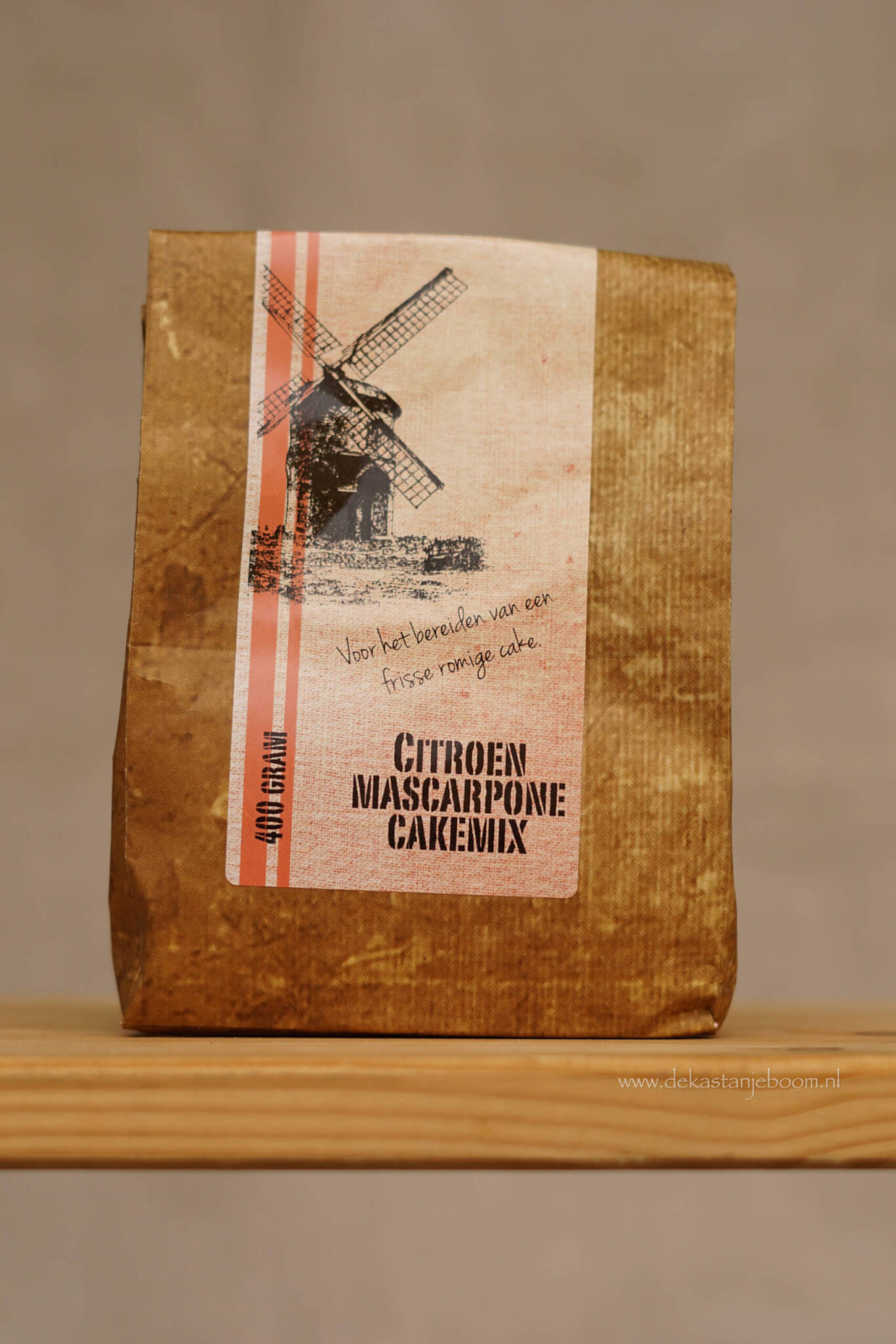 Citroen mascarpone cakemix
