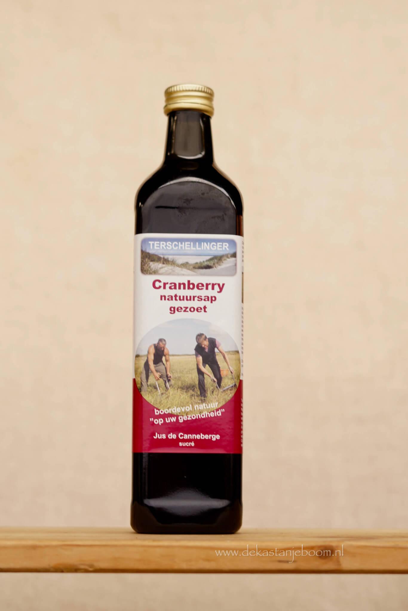 Cranberry natuursap ongezoet