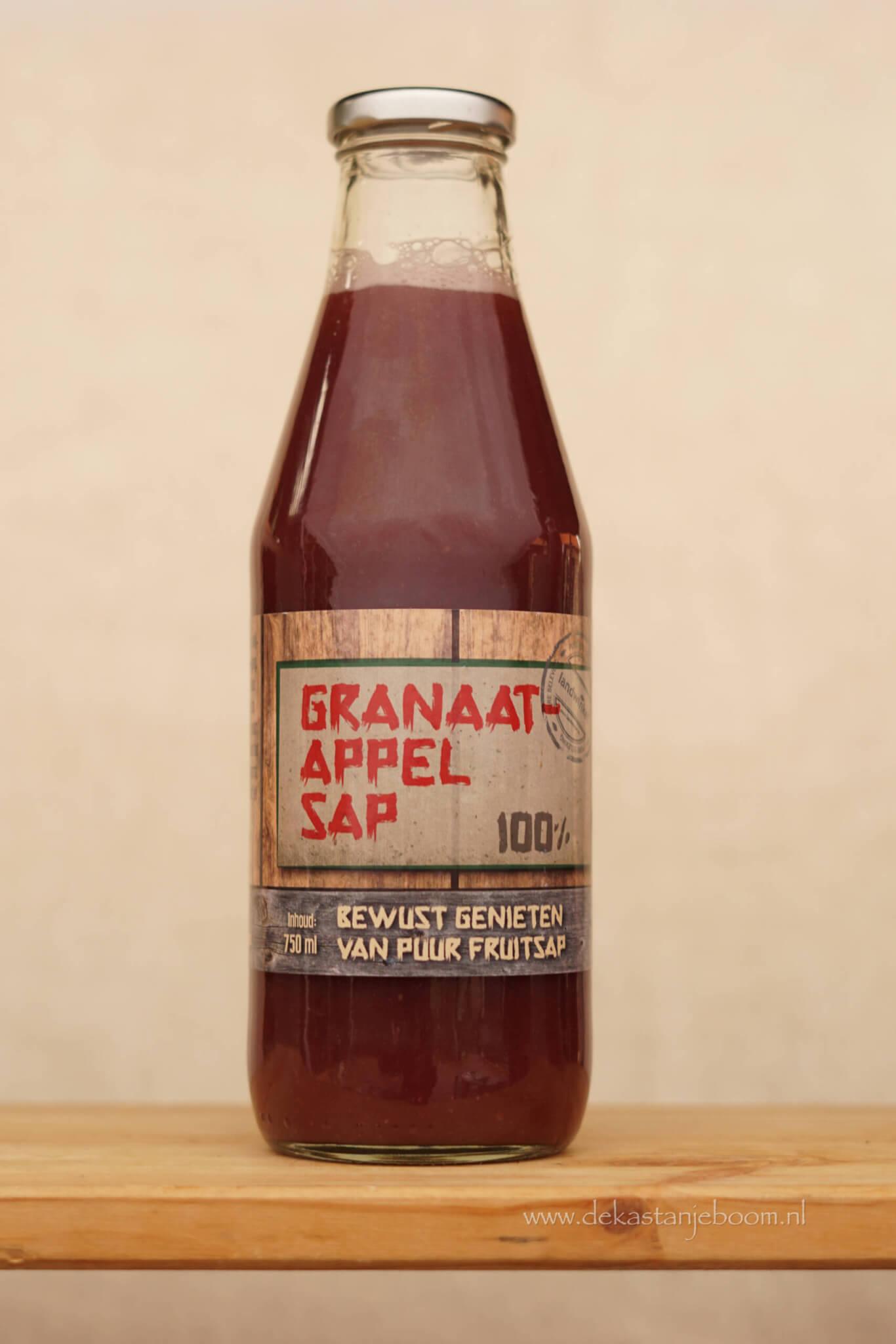 Granaatappel sap 100%