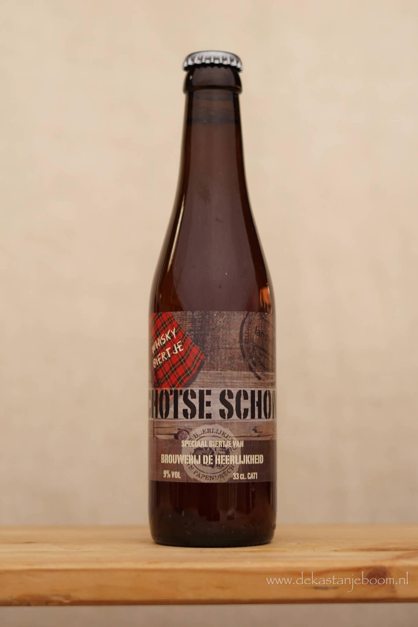 Schotse schone bier