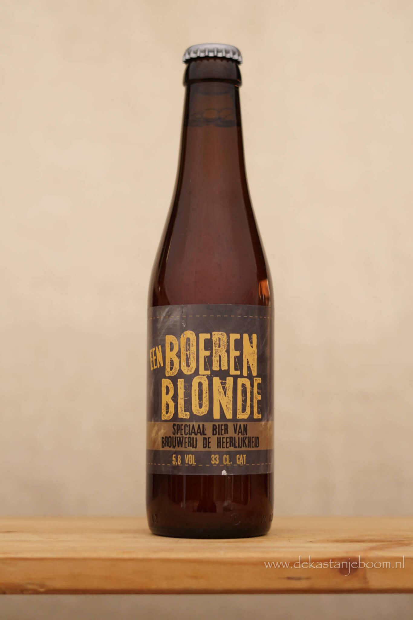 een boeren blonde bier landwinkel
