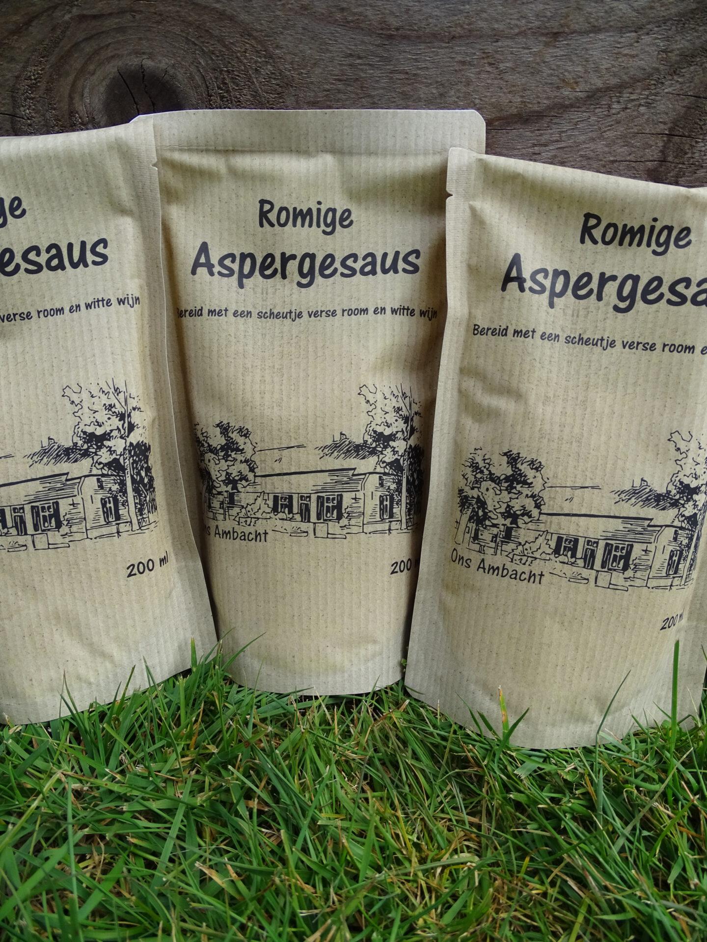 Romige aspergesaus